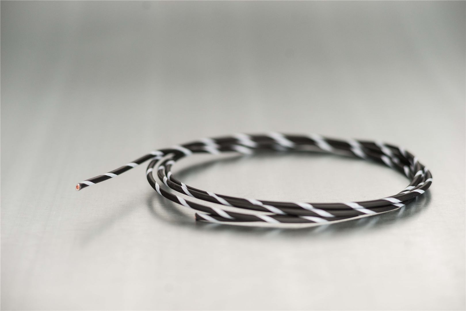 14 Black/White Primary Wire