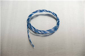 18 Blue/White Primary Wire