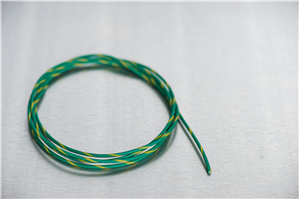 18 Green/Yellow Primary Wire
