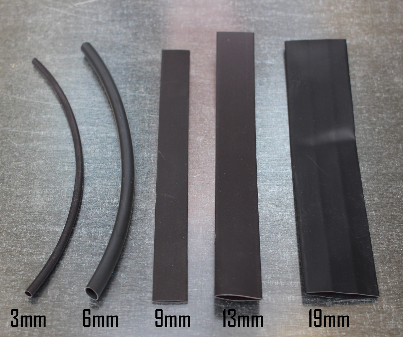 19mm Black Heat Shrink
