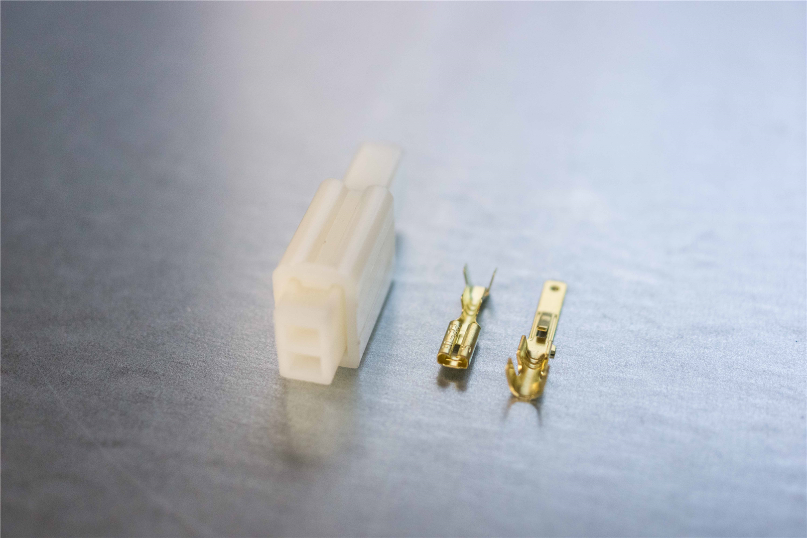 2.8mm 2-pin Non-Latching M/F ABS Connector