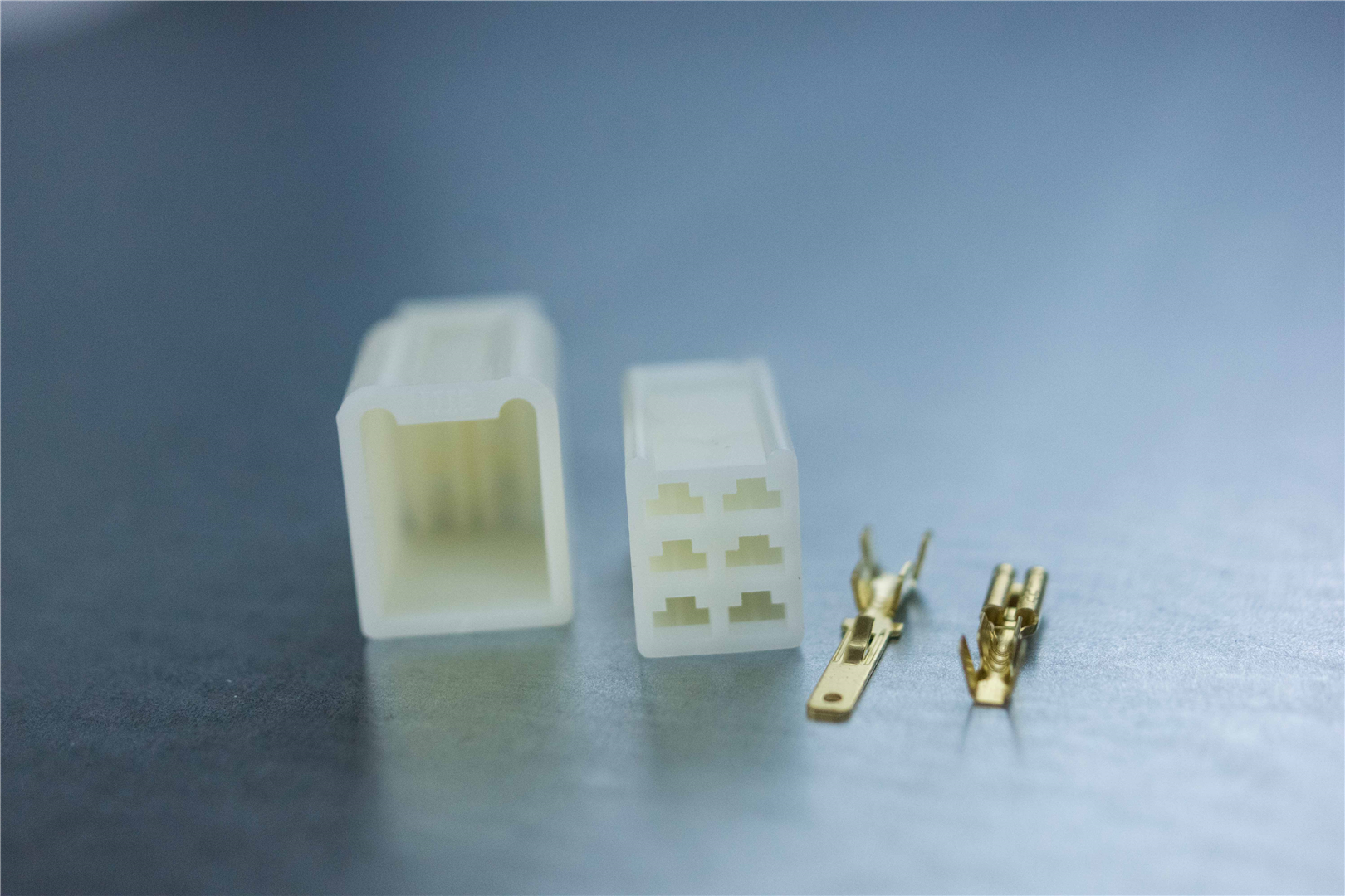 2.8mm 6-pin Non-Latching M/F ABS Connector